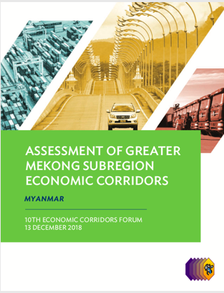 Study of Economic Corridor in Myanmar, ADB, 2017