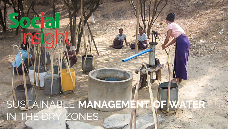 SUSTAINABLE MANAGEMENT OF WATER IN THE DRY ZONES