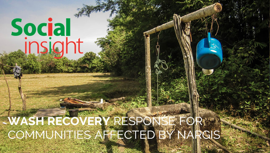 WASH RECOVERY RESPONSE FOR COMMUNITIES AFFECTED BY NARGIS