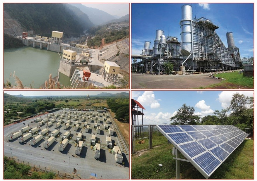 Study Report - Study on Myanmar Energy Mix (especially Focused on Power Sector) - 2016