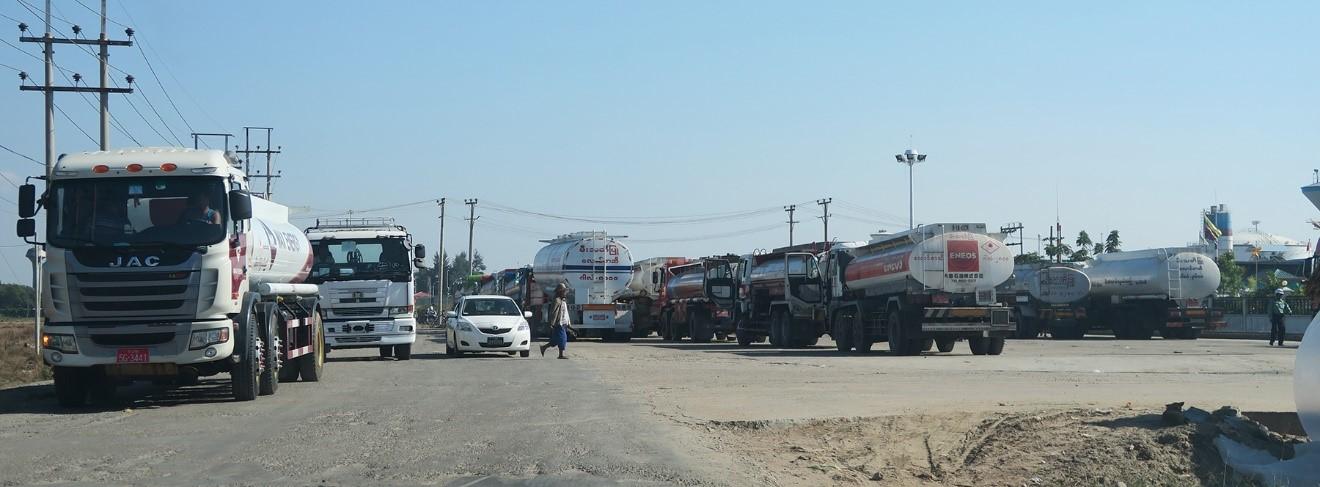 Study Report - Study of Fuel Market (Gasoline and Diesel) in Myanmar - 2016