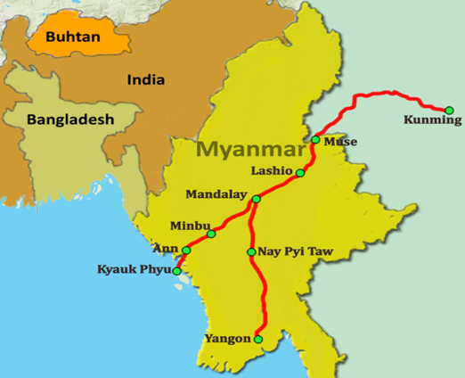 Study of the Belt and Road Initiative (National Assessment Report: Myanmar)2018