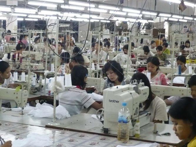 Garment Workers in PERI urban areas, Yangon, Myanmar 2018